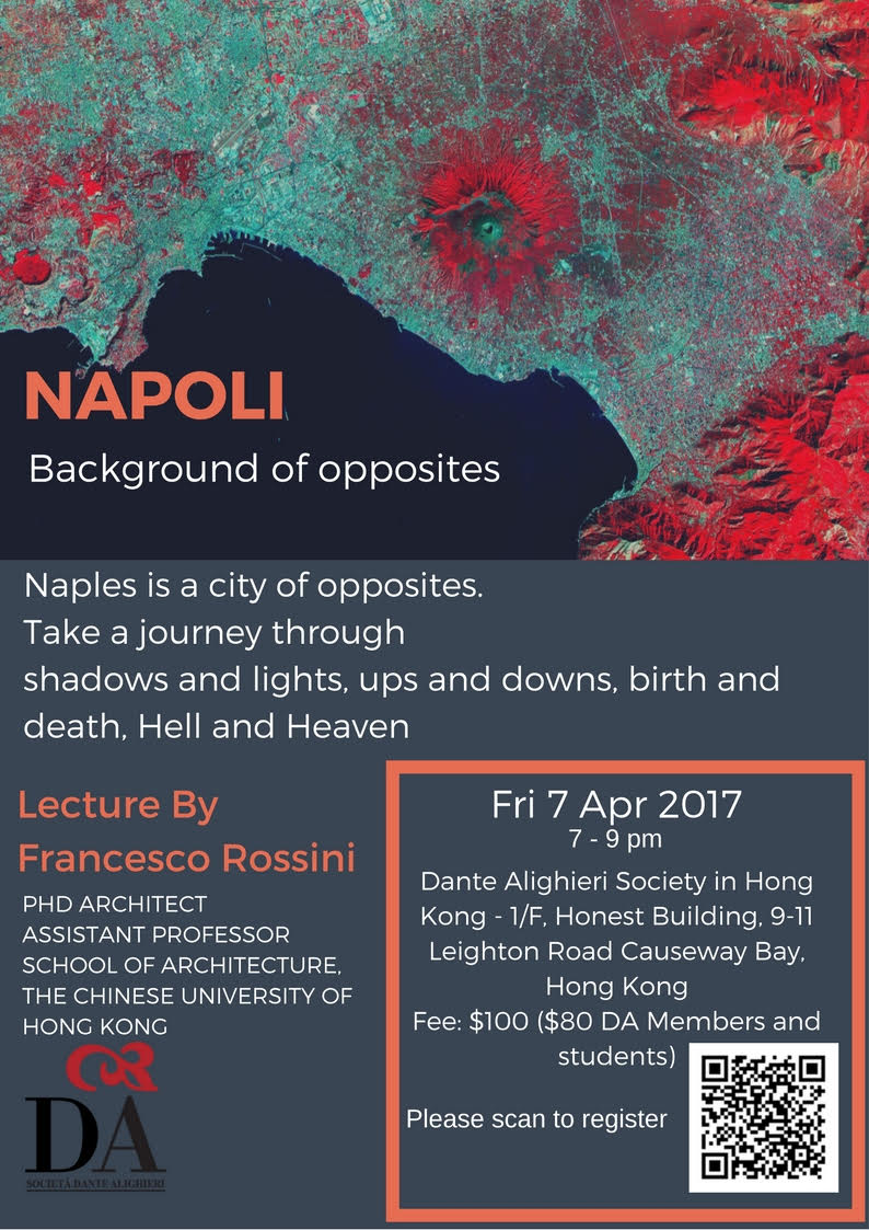 Napoli, the Background of Opposites – Lecture -  7 April 2017
